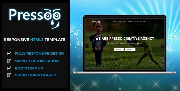Presso | The Multi-Purpose HTML5 Template - Corporate Site Templates