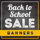 Back to School Sale Banners - GraphicRiver Item for Sale