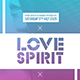 Love Spirit | Minimalist Sexy Flyer PSD Template - GraphicRiver Item for Sale