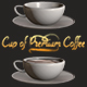 Element 3D - Cup of Premium Coffee by cinema4d-man - 3DOcean Item for Sale