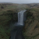 Aerial View of Waterfall in Iceland - VideoHive Item for Sale
