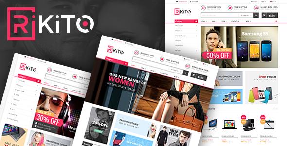 Vina Rikito – Responsive VirtueMart Joomla Template