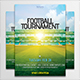 Football Tournament Flyer - GraphicRiver Item for Sale