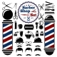 Vector Barber Shop Accessories Set - GraphicRiver Item for Sale