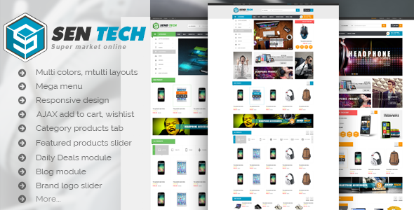 VG Sentech – Responsive Digital Woocommerce Theme