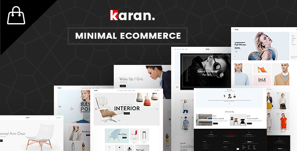 Karan - Multipurpose eCommerce Template - Shopping Retail