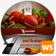 Food & Restaurant Web Sliders - GraphicRiver Item for Sale