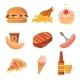 Junk Food Collection - GraphicRiver Item for Sale