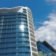 Office Building And Clouds - VideoHive Item for Sale