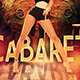 Cabaret and Burlesque Flyer Template