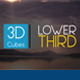 3D Cubes Lower Third  - VideoHive Item for Sale
