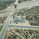 Aerial Desert Crossroads - VideoHive Item for Sale