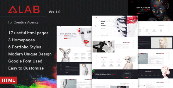 Alab – Creative Business HTML Template