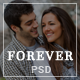 Forever | Wedding PSD Template - ThemeForest Item for Sale