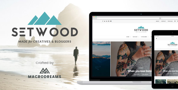 Setwood - WordPress Blog & Shop Theme