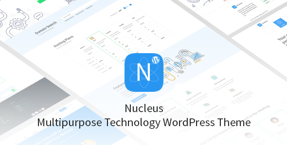 Nucleus – Multipurpose Technology WordPress Theme