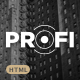 Profi - Multipurpose Corporate HTML Template Nulled