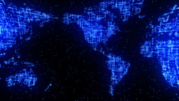 Digital network data world map by gesh tv videohive play preview video gumiabroncs
