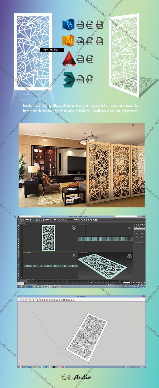 Jewel (3D screen) PD_G10 - 3DOcean Item for Sale