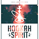 Hookah Spirit | Dope Style Chill Minimal Flyer PSD Template - GraphicRiver Item for Sale
