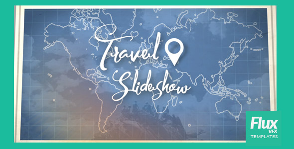 Map travel slideshow by fluxvfx templates videohive play preview video gumiabroncs Image collections
