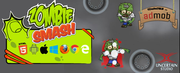 Zombie Smash - Construct 2 (.capx) - CodeCanyon Item for Sale