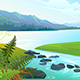 Lake Landscape - GraphicRiver Item for Sale