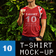 Men's T-Shirt Mock-Up - GraphicRiver Item for Sale