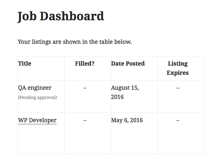 WP Job Manager - Resume Database by lifeisgoodlabs | CodeCanyon