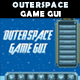 Outerspace Game GUI - GraphicRiver Item for Sale