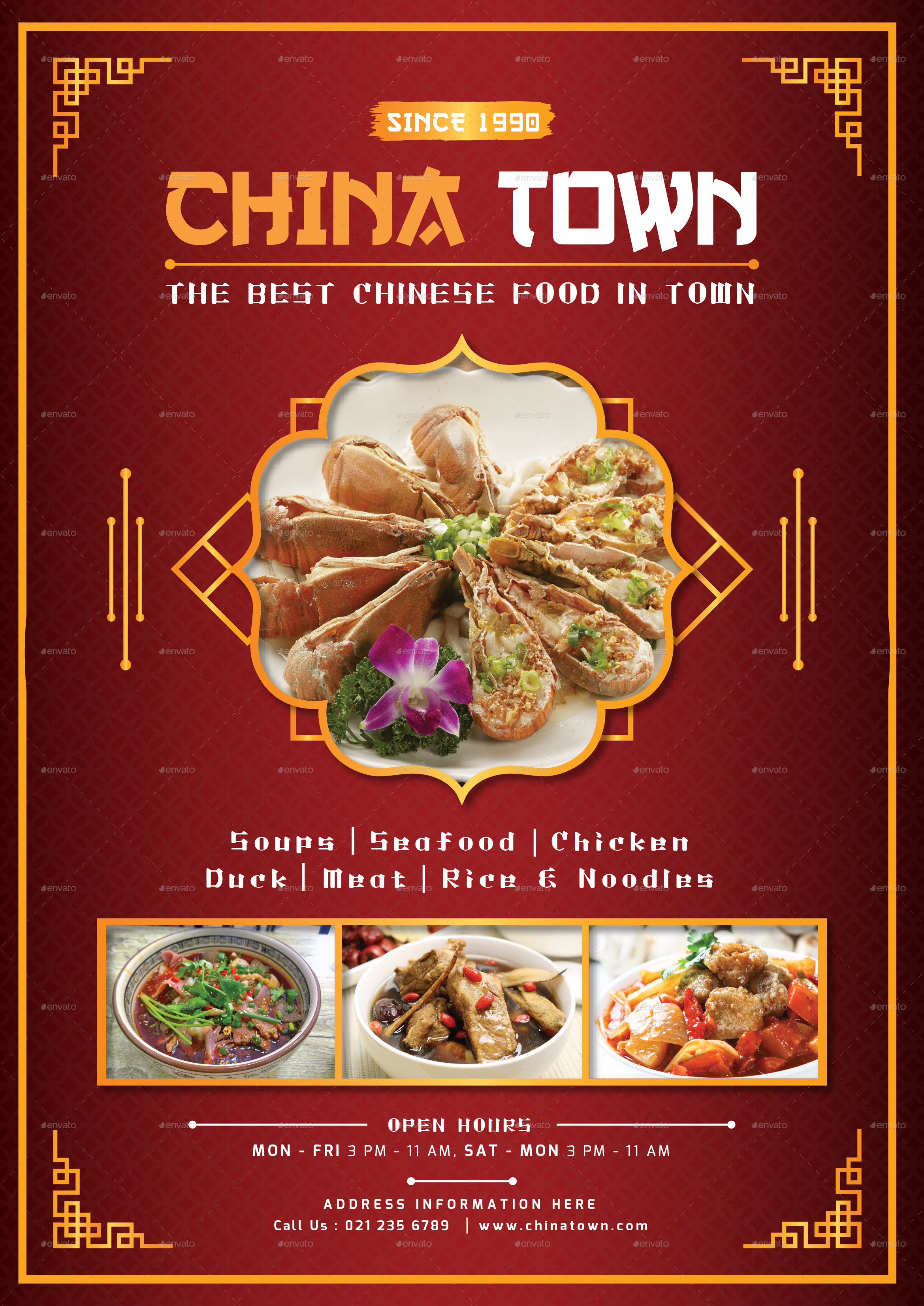 CHINESE FOOD MENU by TotemDesigns | GraphicRiver