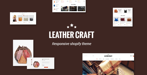 Image of Leather - Responsive Fashion Shopify Theme
