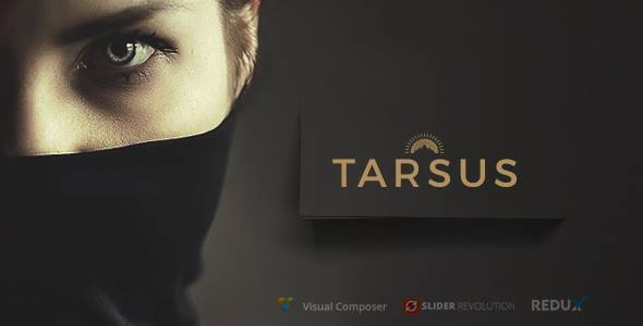 Tarsus - One Page Creative WordPress Theme