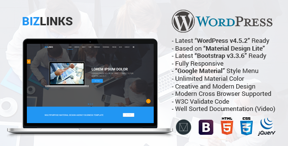BizLinks | Multipurpose Business and Agency WordPress Theme