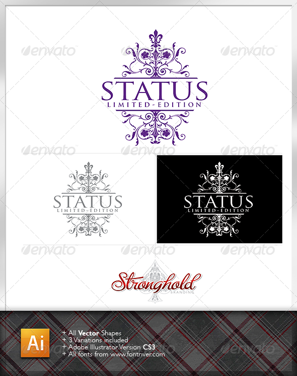 Home decor logo template by getstronghold graphicriver for Home interiors logo
