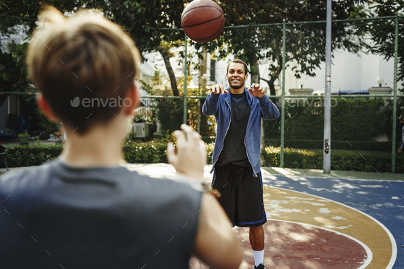 Basketball Athlete Sport Exercise Skill Practice Concept - Stock Photo - Images