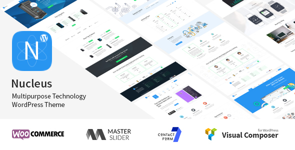 Nucleus - Multipurpose Technology WordPress Theme - Technology WordPress