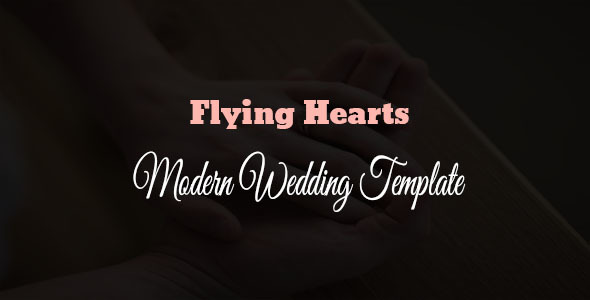 Flying Hearts- Responsive Html Wedding Template