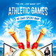 Athletic Games Poster - GraphicRiver Item for Sale