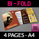 Law Firm Bi-Fold Brochure Template - GraphicRiver Item for Sale