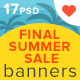 Final Summer Sale Banners - GraphicRiver Item for Sale