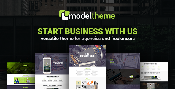 ModelTheme – Versatile WordPress Theme for Agencies and Freelancers