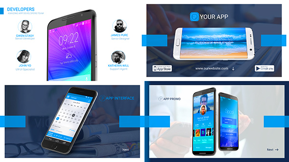 Marketing Presentation For App Developers By Corporateking | Videohive