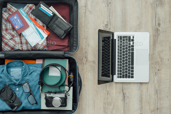 Traveler's bag - Stock Photo - Images