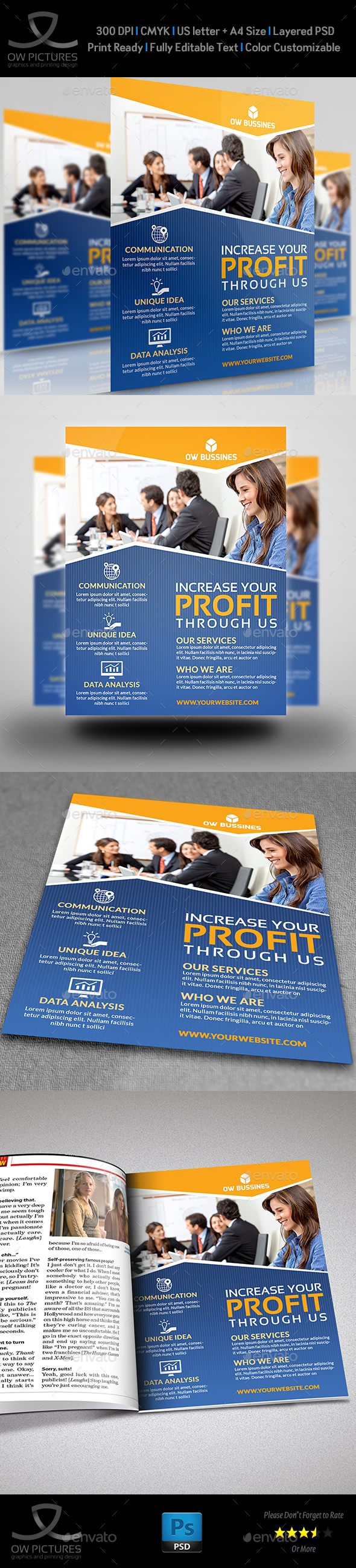 Corporate Business Flyer Template Vol.19 - Corporate Flyers