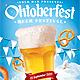 Oktoberfest Beer Flyer Template - GraphicRiver Item for Sale