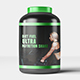 Sports Nutrition Supplements Bottle Mock-Up - GraphicRiver Item for Sale