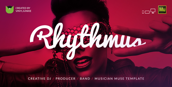 Rhythmus – Creative DJ / Producer / Musician Site Muse Template