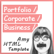 Amy - Responsive Corporate, Business & Portfolio Template