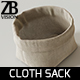 Cloth Sack - 3DOcean Item for Sale